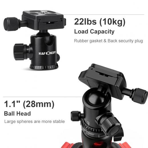 TM2515T Trípode Monopod de cámara de  DSLR se adapta Canon, Nikon